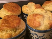 Herbed Cheese Souffle