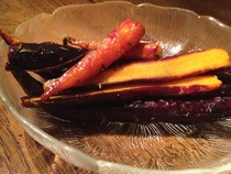 Brown Sugar And Thyme Roasted Baby Carrots