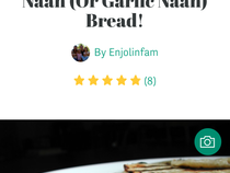 Best Healthy Vegan Indian Naan Or Garlic Naan Bread
