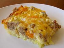 The Grumbein's Christmas Eggs   Breakfast Casserole