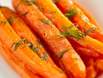 Dill And Honey Carrots