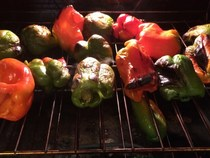 Roasted Bell Peppers With Lemon Juice