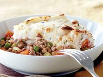 Shepherd's Pie With Buttermilk Chive Mashed Potatoes