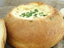 Cob Loaf   Spinach