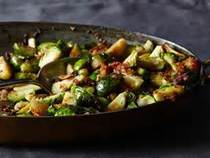 Roasted Brussel Sprounts With Pancetta