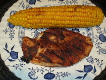 Grilled Chicken With Chili Rub