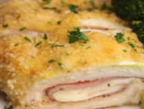 Ham And Cheese Chicken Roll Ups