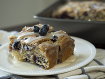 Buttermilk Blueberry Breakfast Casserole