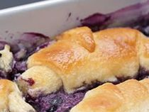Blueberry Croissant Breakfast