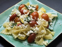 Artichoke And Tomato Pasta Salad
