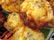 Sausage, Egg, & Cheese Muffins