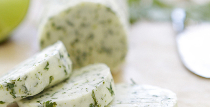 Cilantro And Lime Compound Butter Recipe | Cookbook Create