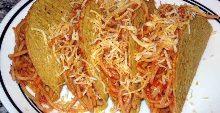 Nathan Kress Icarly Spaghetti Tacos Recipe Recipe Cookbook Create