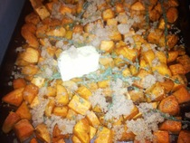 Roasted Sweet Potatoes With Brown Sugar And Thyme