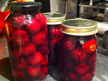 Brandied Cherries For Cocktails And Canning
